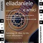 18.05.2019, ELIADANIELE suona con Luigi Fossati, Casa AMUKARTA, Lengnau
